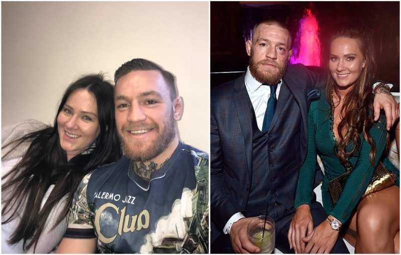 Conor McGregor's family - girlfriend Dee Delvin