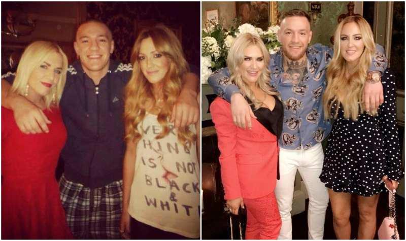 Conor McGregor's siblings - sisters