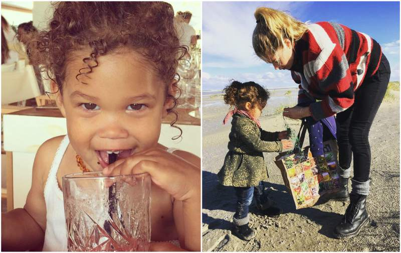 Doutzen Kroes' children - daughter Myllena Mae Gorre