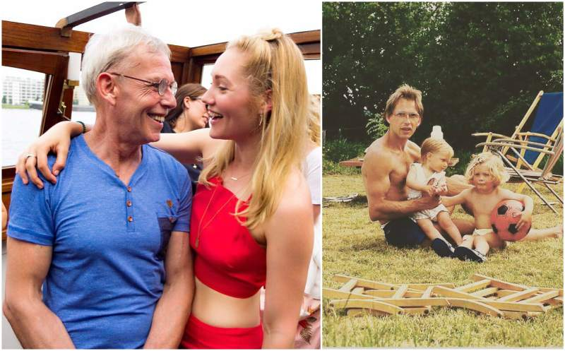 Doutzen Kroes' family - father Johan Kroes