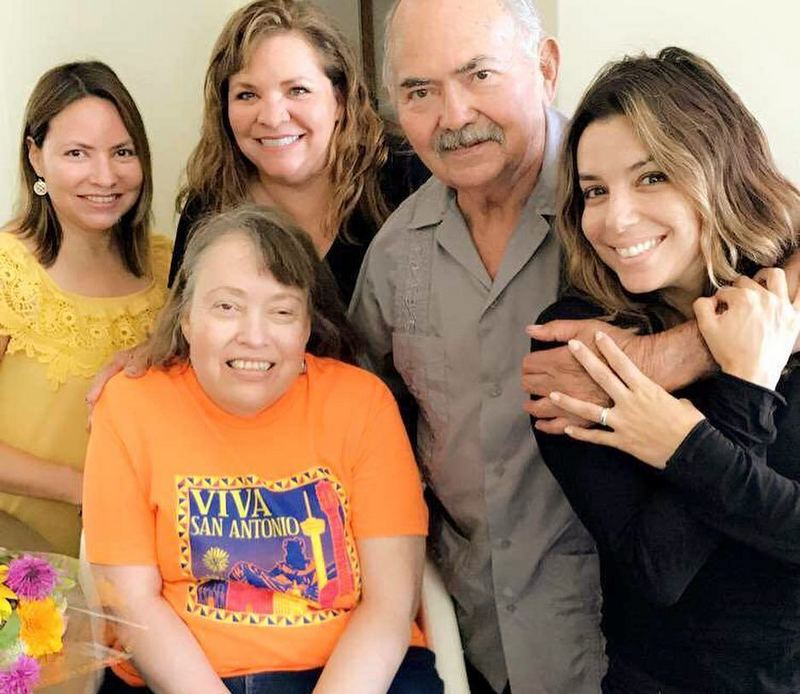 Eva Longoria's family - father and sisters