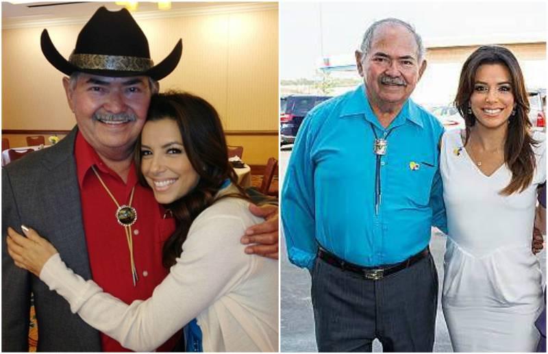Eva Longoria's family - dad Enrique Longoria, Jr.