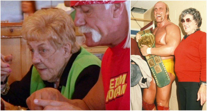 Hulk Hogan's family - mother Ruth Bollea