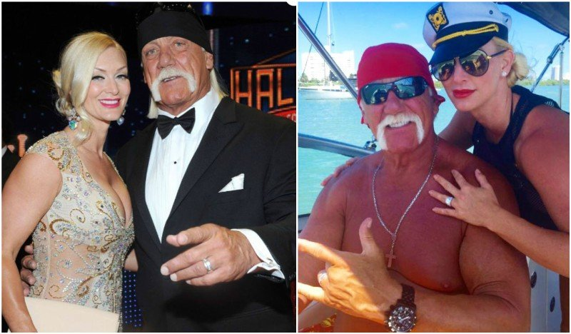 Hulk Hogan's family - wife Jennifer McDaniel