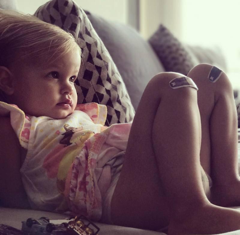 Nick Lachey's children - daughter Brooklyn Elisabeth Lachey