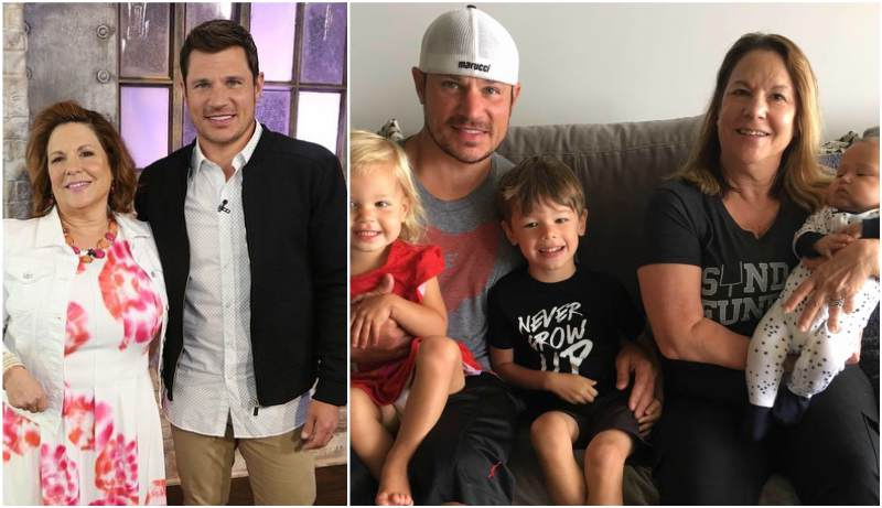 Nick Lachey's family - mother Cate Fopma