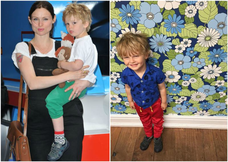 Sophie Ellis-Bextor's children - son Ray Holiday Jones