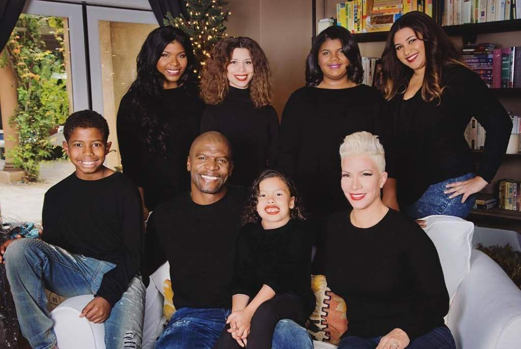 Brooklyn Nine Nine Actor Terry Crews With His Eclectic And Ever Changing Family