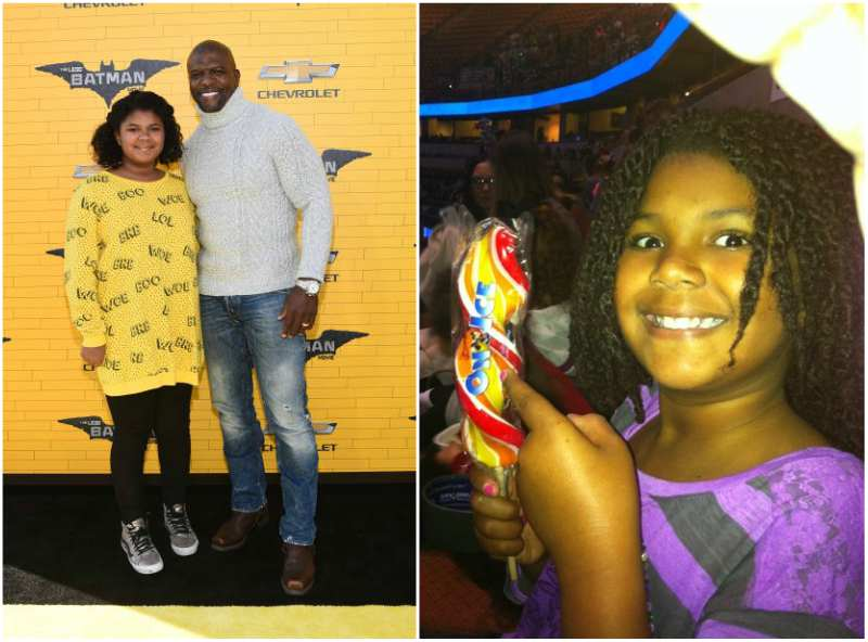 Terry Crews' children - daughter Wynfrey Crews