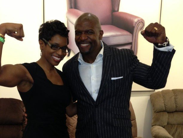 "Terry Crews' siblings - sister Marcelle ""Micki"" Crews"