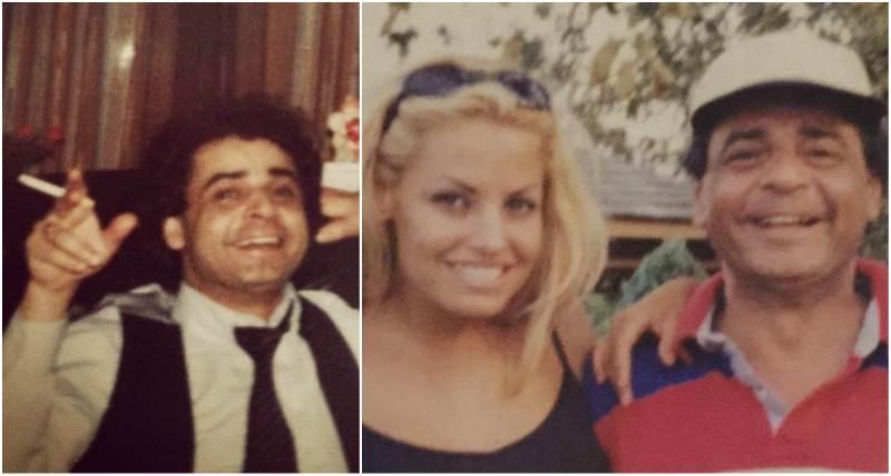 Trish Stratus' family - father John Stratigeas