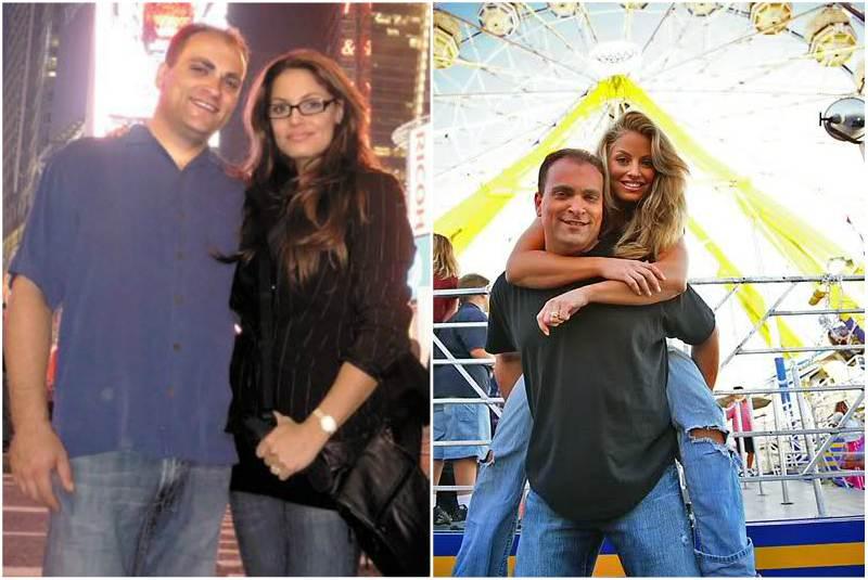 Trish Stratus' family - husband Ron Fisico