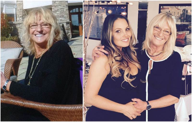 Trish Stratus' family - mother Alice Stratigeas