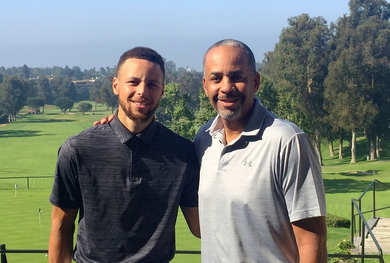 Wardell Stephen Curry's family - father Wardell Curry I