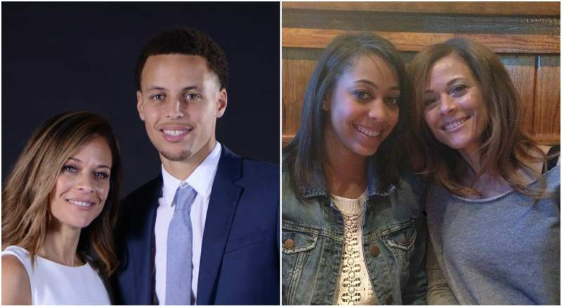 Wardell Stephen Curry's family - mother Sonya Curry