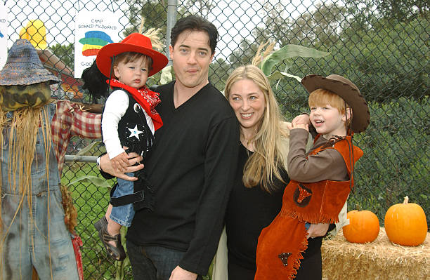 Brendan Fraser's family - wife and kids