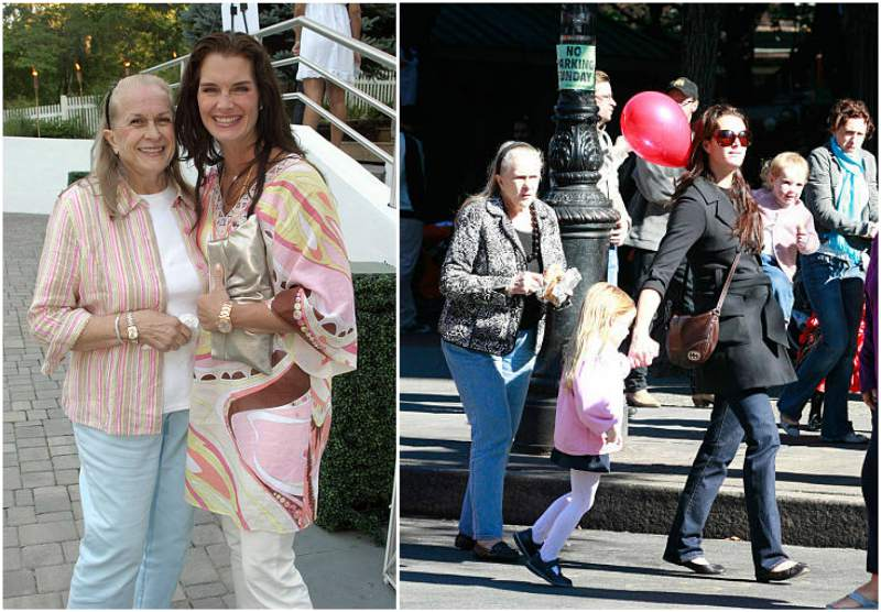 Brooke Shields' family - mother Teri Shields