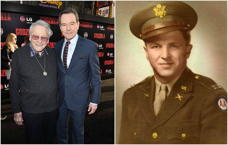 Bryan Cranston's family - father Joe Cranston