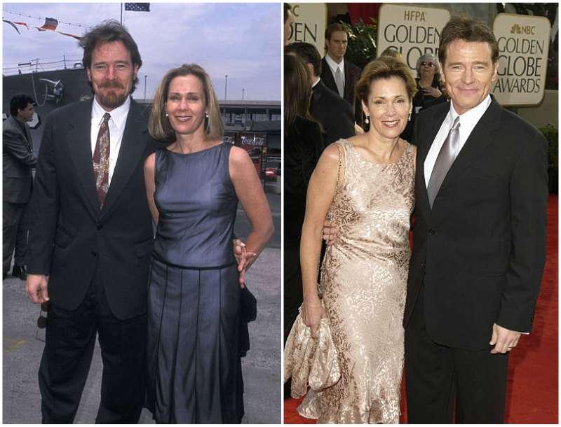 Bryan Cranston's family - wife Robin Dearden