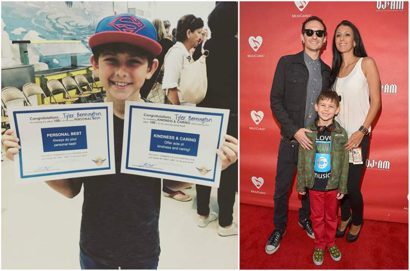 Chester Bennington's children - son Tyler Lee Bennington