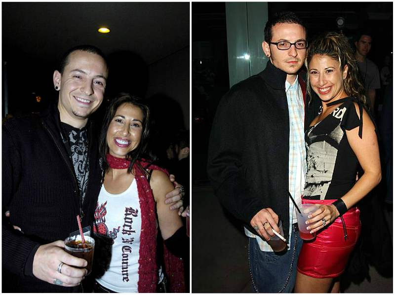 Chester Bennington's family - ex-wife Samantha Marie Olit