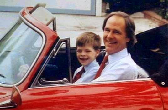 Chris Pine's family - father Robert Pine