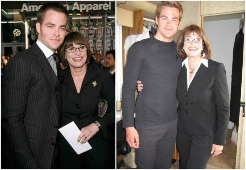 Chris Pine's family - mother Gloria Gwynne Gilford
