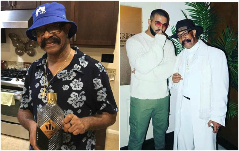 Rapper Drake's family - father Dennis Graham