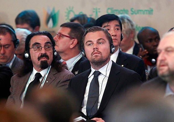 Leonardo DiCaprio's family - father George DiCaprio