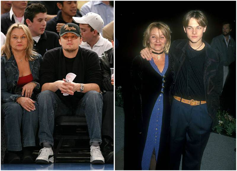 Leonardo DiCaprio's family - mother Irmelin Indenbirken