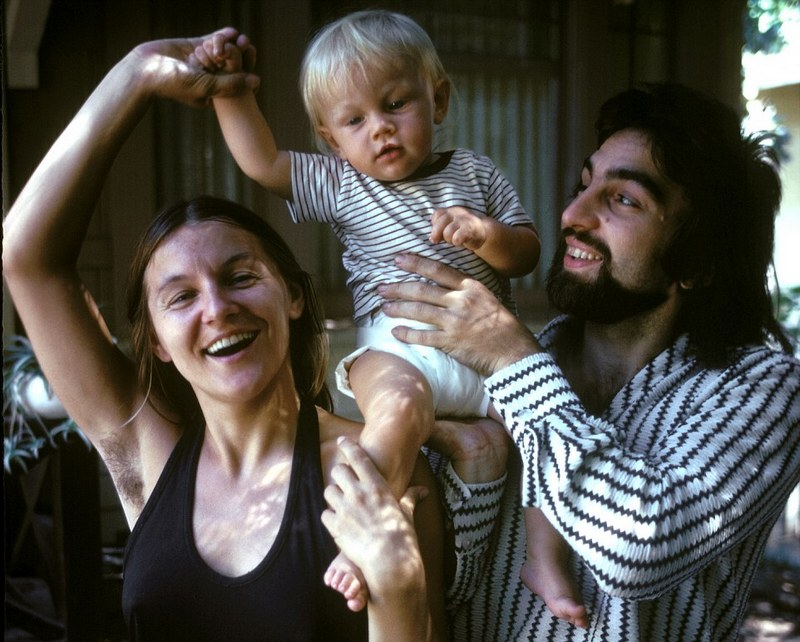 Leonardo DiCaprio's family - father and mother