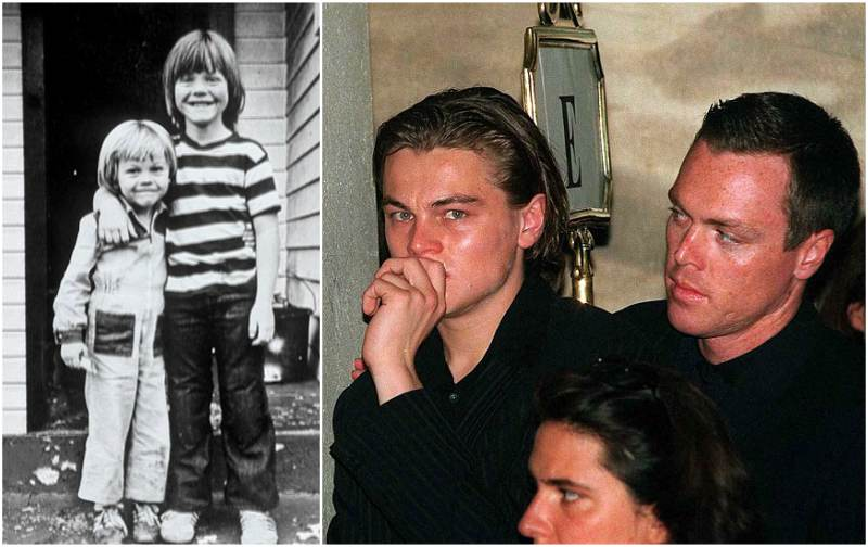 Leonardo DiCaprio's siblings - step-brother Adam Farrar