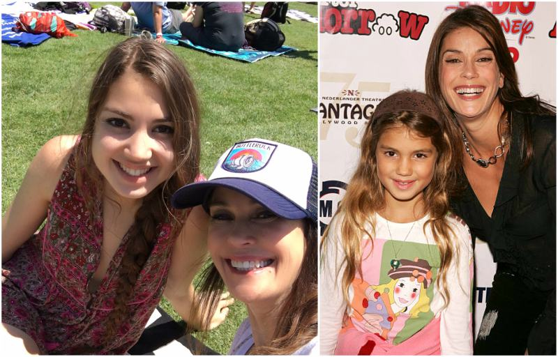 Teri Hatcher's children - daughter Emerson Rose Tenney