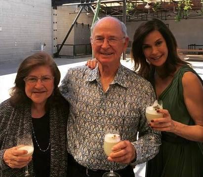 Teri Hatcher's family - parents