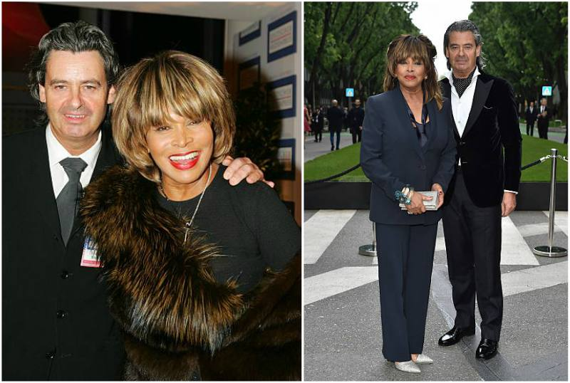 Tina Turner's family - husband Erwin Bach