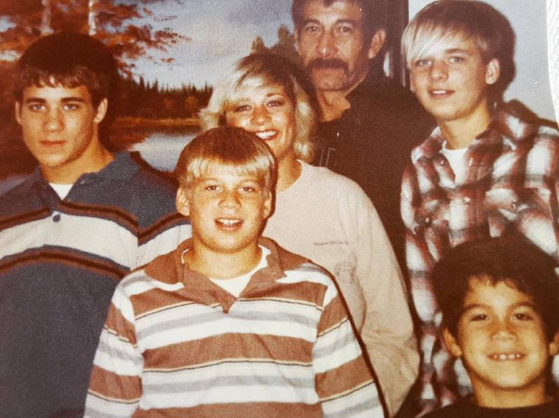 Tito Ortiz's family - brothers and parents