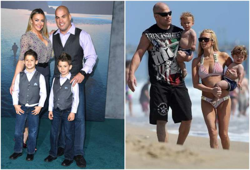 Tito Ortiz's children - twin sons Journey and Jesse Ortiz