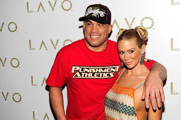 Tito Ortiz's family - ex-girlfriend Jenna Jameson