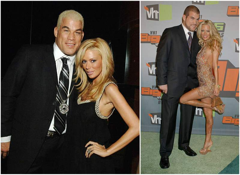 Tito Ortiz's family - ex-girlfriend Jenna Jameson