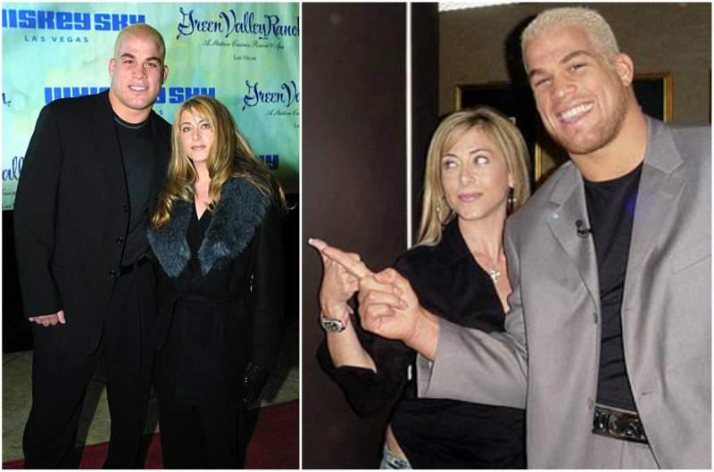 Tito Ortiz's family - ex-wife Kristin