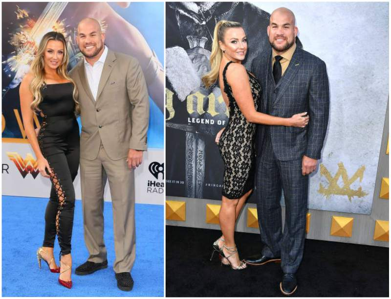 Tito Ortiz's family - girlfriend Amber Nicole Miller