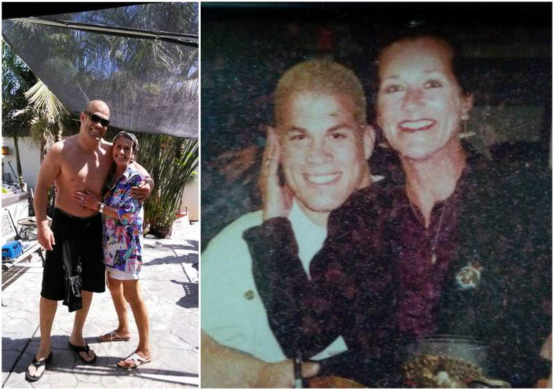Tito Ortiz's family - mother Joyce Robles (nee Johnson)
