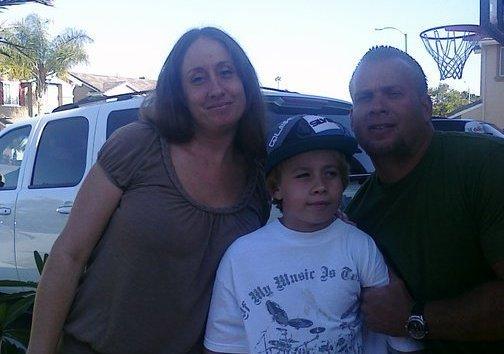 Tito Ortiz's siblings - half-brother Jim Simmons