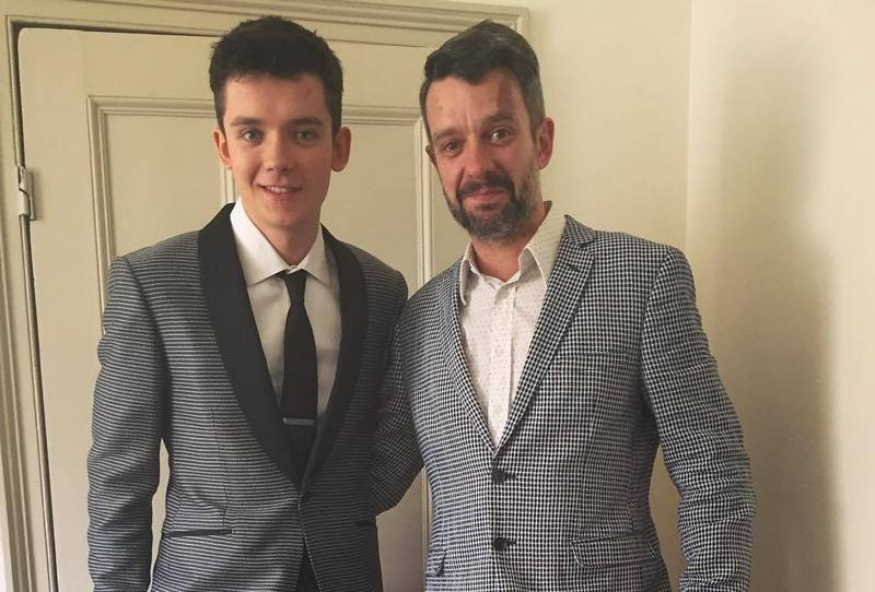 Asa Butterfield's family - father Sam Butterfield