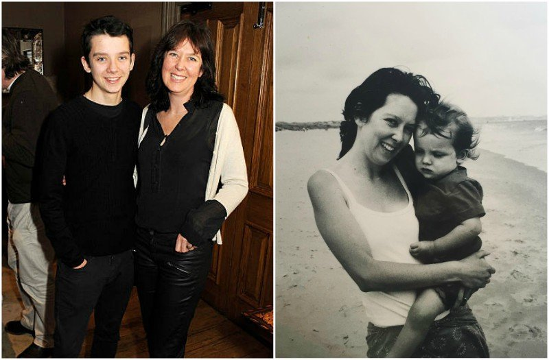 Asa Butterfield's family - mother Jacqueline Farr