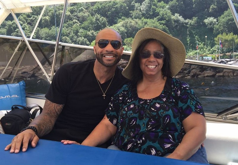 Carlos Boozer's family - mother Renee Boozer