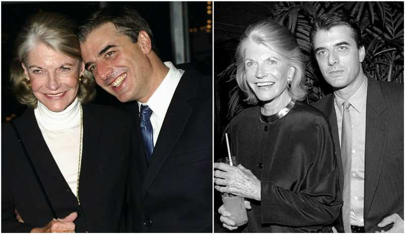 Chris Noth's family - mother Jeanne Parr