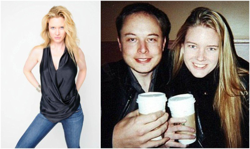 Elon Musk's family - ex-wife Justine Musk