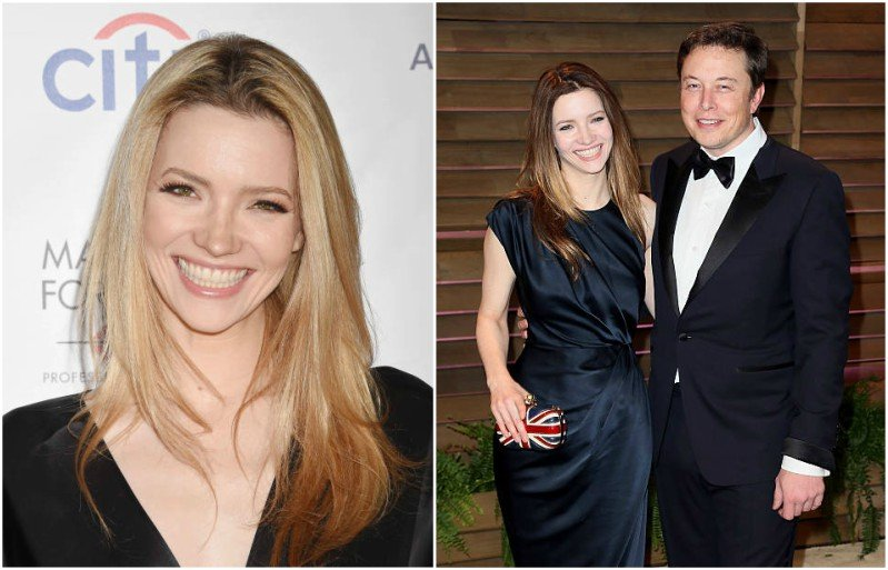 Elon Musk's family - ex-wife Talulah Riley