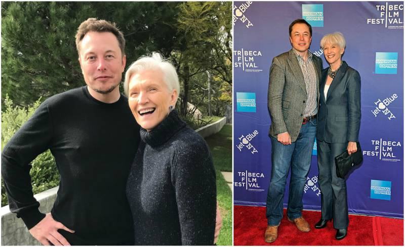Elon Musk's family - mother Maye Musk